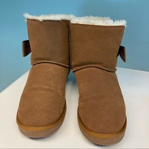 """NO SURRENDER Leather Wool Lining """"UGG-like"""" Boots"""
